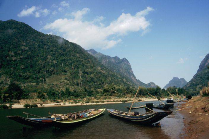 Indocina - Mekond visto dal Laos