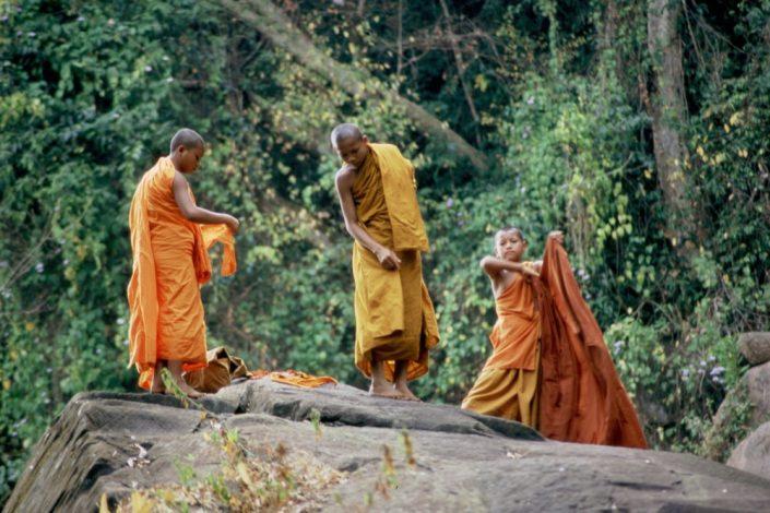 Indocina - Monaci buddisti