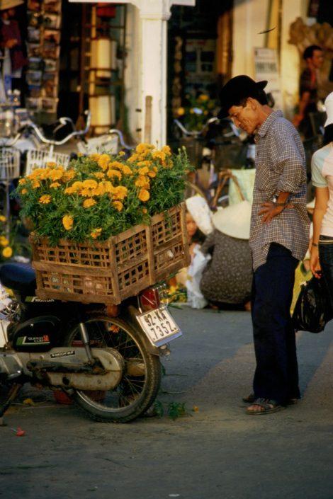 Indocina - Mercato ad Hanoy