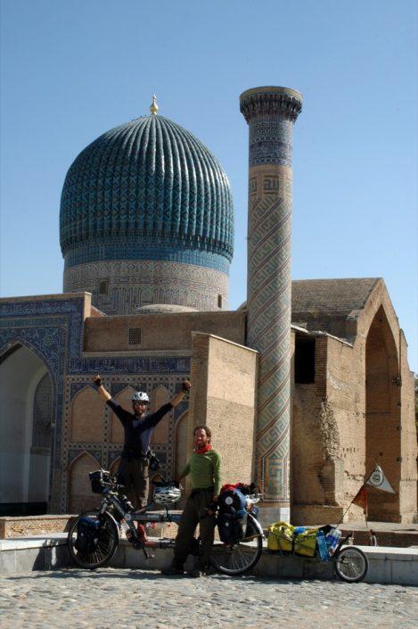 Dall'Italia all' Uzbekistan - Samarkanda