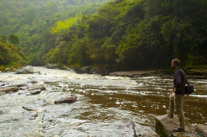 Sud America. Rio Magdalena, Colombia