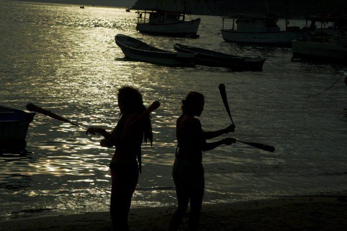 Sud America. Spiaggia di Taganga
